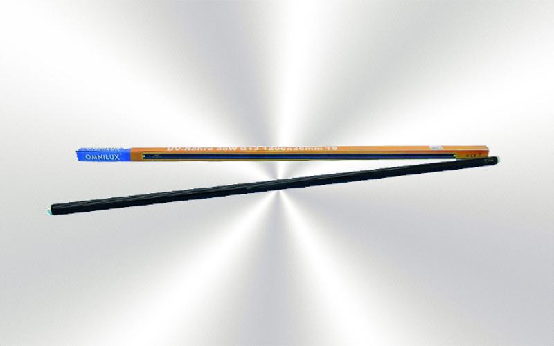 Iluminación tubo de luz negra completo 36w 120cm  -0010-0000-