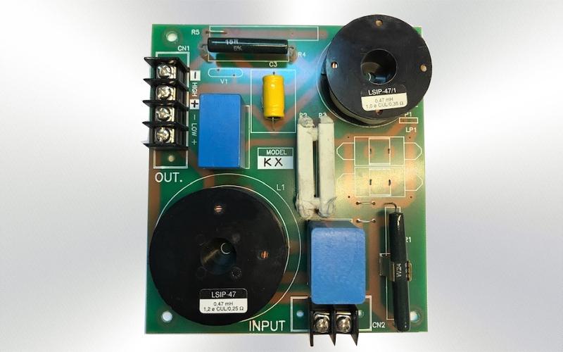 12KX -Filtro pasivo 2 vias 350w 2000Hz para 12 KX  -0020-0010-