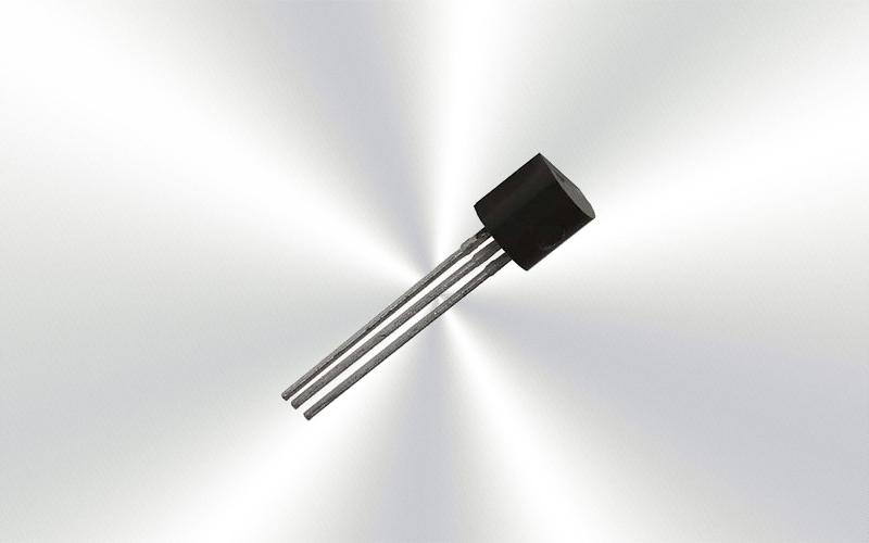 2N5401 -Transistor de unión bipolar único, PNP, 150V, 625mW, 600mA, 50hFE -6975-0015-