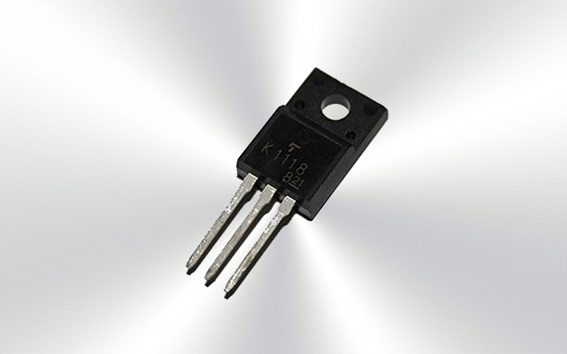 2SK1118 -Transistor MOSFET N 600V 6A 45W TO-220F -7012-0015-