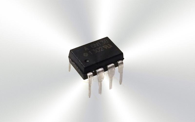 6N138 -Optoacoplador Vishay, entrada DC, Salida Darlington, montaje en orificio pasante, DIP, 8 Pines -7015-0015-