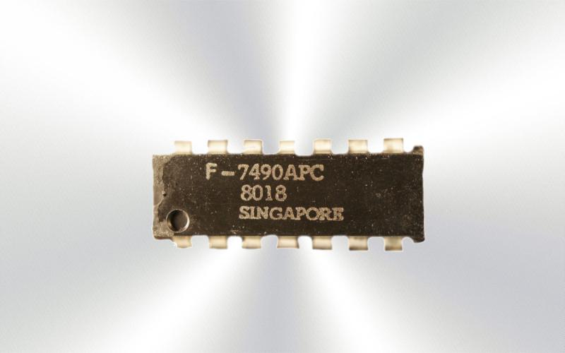 7490APC -Semiconductor Faisemico Fairchild Rqans2 -7015-0015-