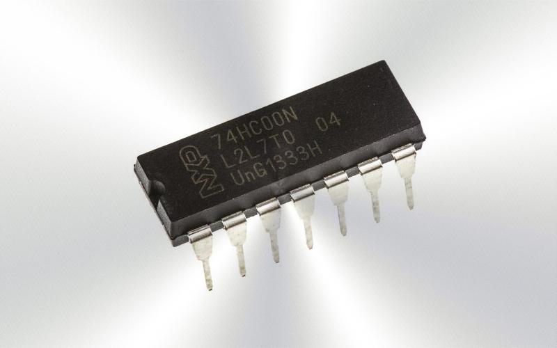 74HC00N -Circuito integrado, 74 HC CMOS, 74HC00, DIP14, 5V -6950-0015-