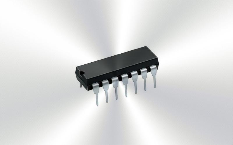 74HCT00N -Puerta NAND, Familia HCT, 4 puertas, 2 entradas, 4 mA, 4.5 V a 5.5V, DIP-14 -7176-0015-