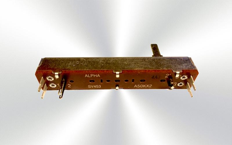 Potenciómetro deslizante ALPHA SV453 A50KX2 -100-0025-
