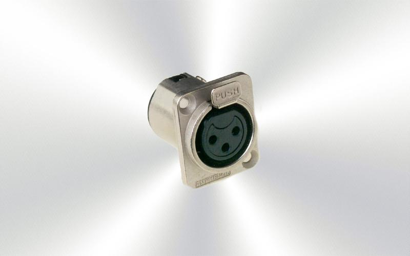 AC3FDZ Conector xlr chasis Amphenol -0020-0000-