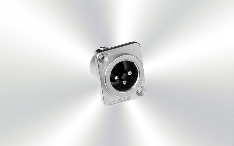 AC3MDZ Conector xlr chasis Amphenol -0020-0000-