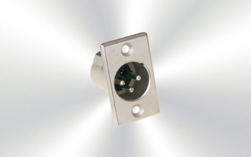 AC3MPNZ Conector xlr chasis Amphenol -0020-0010-
