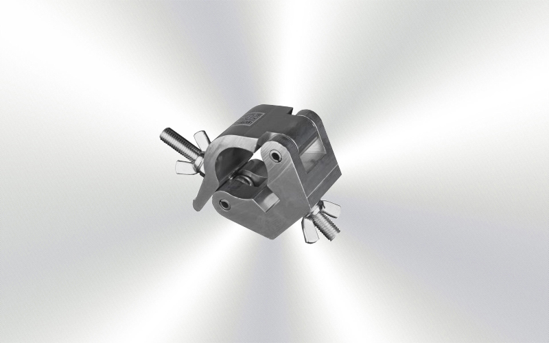 AL-501 -Abrazadera aluminio tubo 50 peso 500kg -0045-0015-
