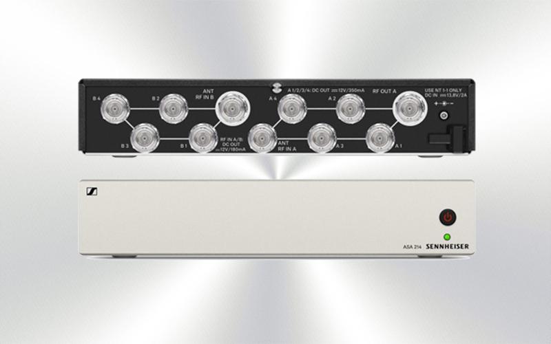 ASA 214-1G8 -Splitter activo Sennheiser -1721-0003-