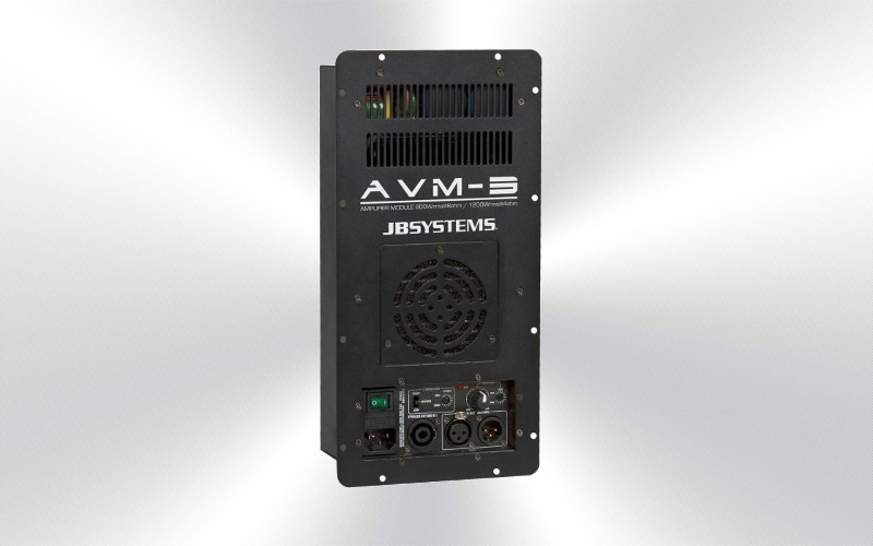 AVM-3 -Etapa  800w x1 a 8  1300W x 1 a 4 JBSystems -0025-0010-