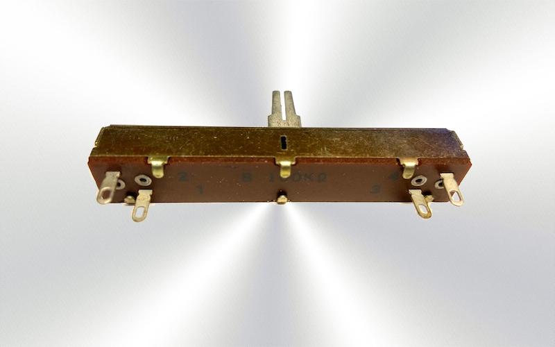 Potenciómetro deslizante ALPHA B100K -100-0025-