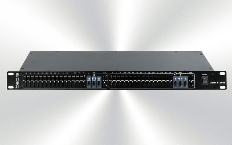 BEQ-15 -Ecualizador gráfico 15 + 15 cortes JBSystems -0010-0000-