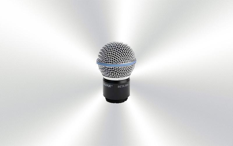R158+R160 -Microfono. Cápsula con rejilla para SHURE BETA-58  ó SM-58 -0055-0025