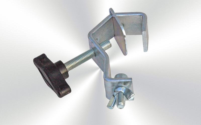 CR-50L - Garra para tubo de 50mm zinczda  -3797-0013-