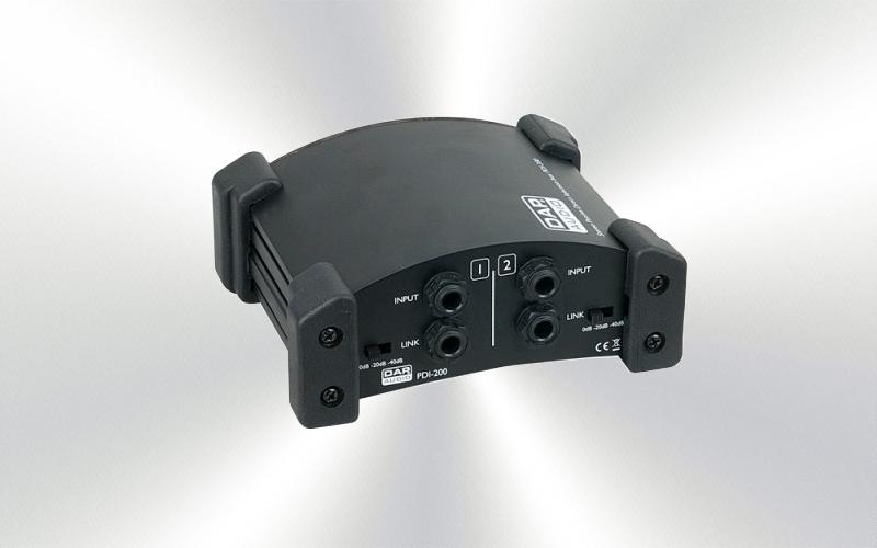 PDI 200 -Caja inyección DAP Audio directa estéreo pasiva -0025-0010-