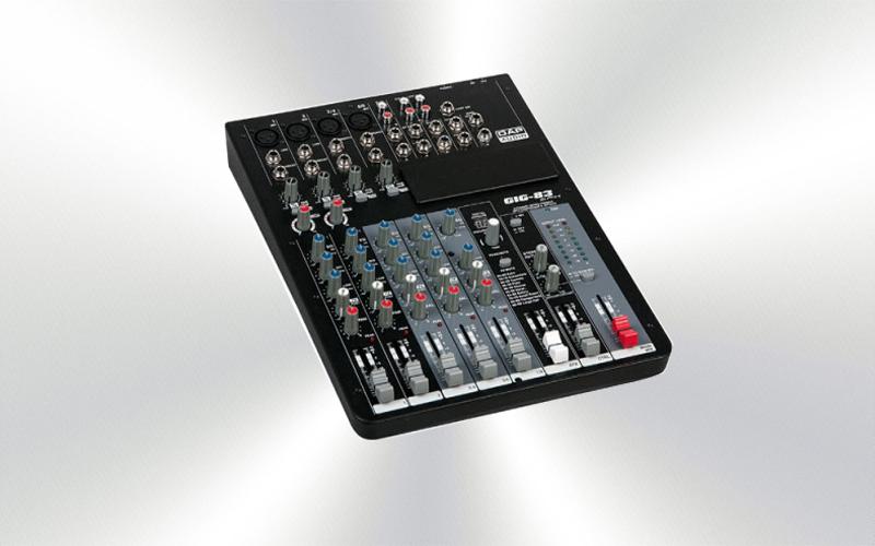 GIG-83CFX -Mesa de mezclas DAP audio 8 canales 4 micros efectos -2526-0010-