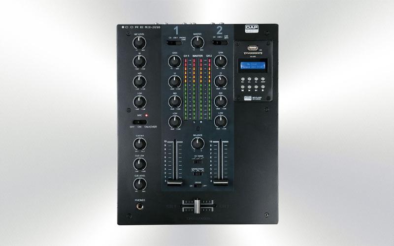 CORE MIX-2 USB -Mezclador DAP Audio 2 canales -2265-0010-