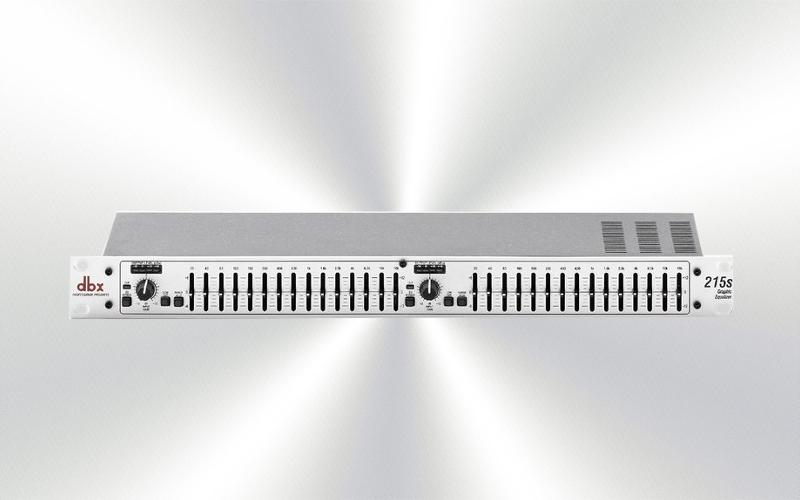 DBX-215S -Ecualizador DBX 2x15 bandas -0010-0000-