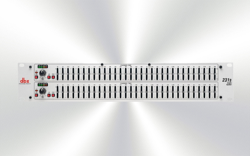 DBX231S -Ecualizador DBX gráfico 2x31 bandas -0010-0000-
