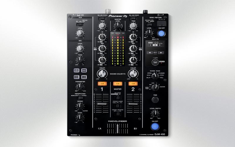DJM450 -Mezclador Pioneer DJ -2111-0007-++