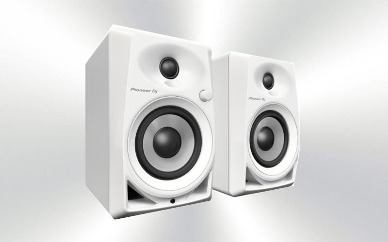 DM-40 W -Monitor 4'' pareja speakers (blancos) Pioneer -2458-0010-