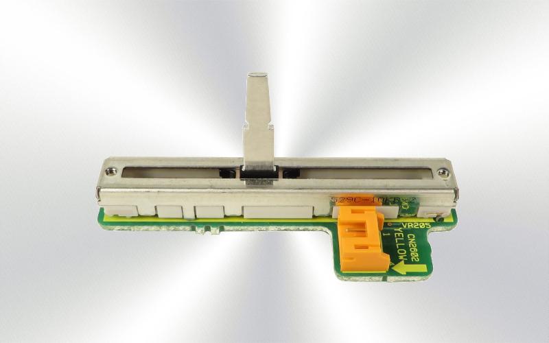 DWX2538 - Potenciómetro deslizante de canal 2 con placa, para Pioneer DJM-800 -4500-0025-