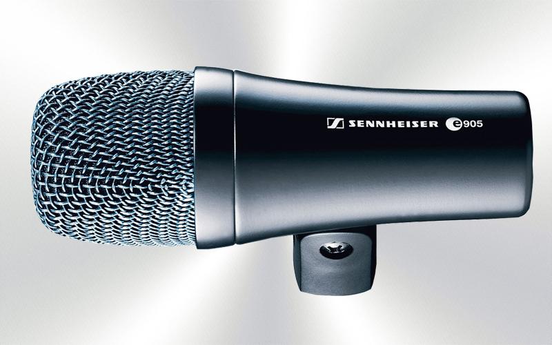E 905 - Micrófono de mano por cable dinámico instrumento caja Sennheiser -0035-0015-