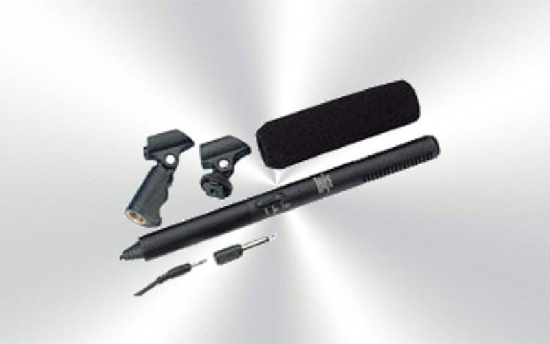 ECM-920 -Micrófono de cañon por cable condensador supercardioide Monacor -0010-0000-