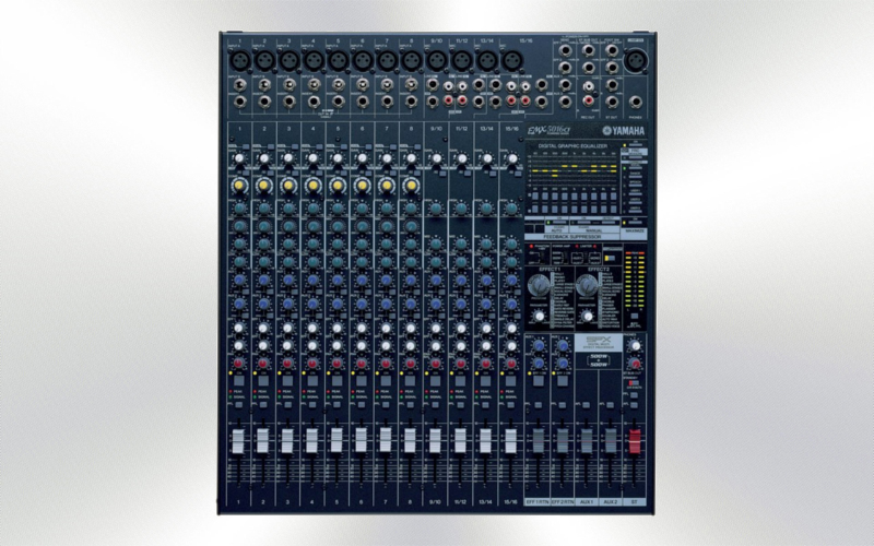 EMX5016CF - Mesa audio amplificada 16 canales 500+500W Yamaha -1288-0000-