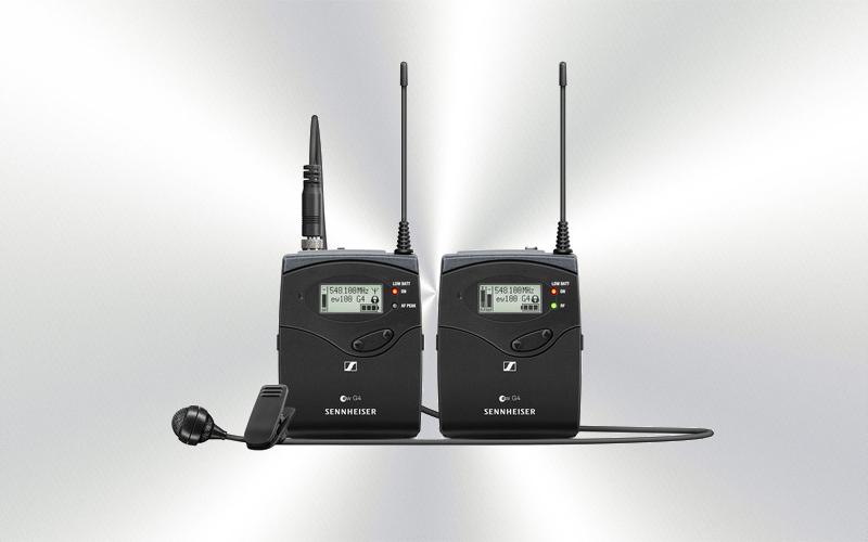 EW 122P G4 R-A -Micrófono inalámbrico emisor receptor de petaca -1760-0003-