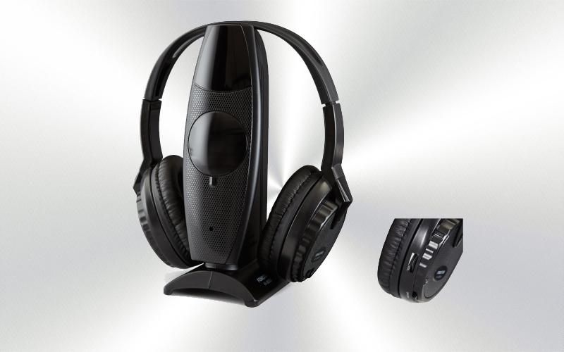 FA-8050 -Auriculares inalámbricos Fonestar estéreo Hi-Fi por radiofrecuencia UHF -2716-0007-