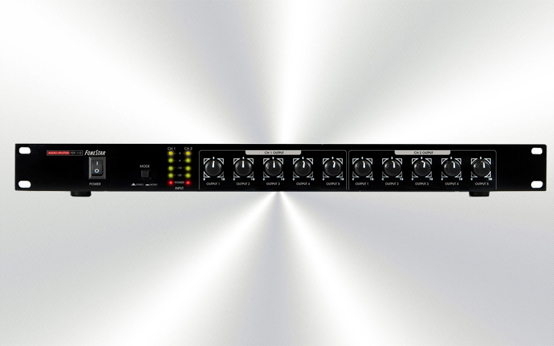 FDT-112 -Distribuidor de audio 10 salidas XLR -0025-0010-