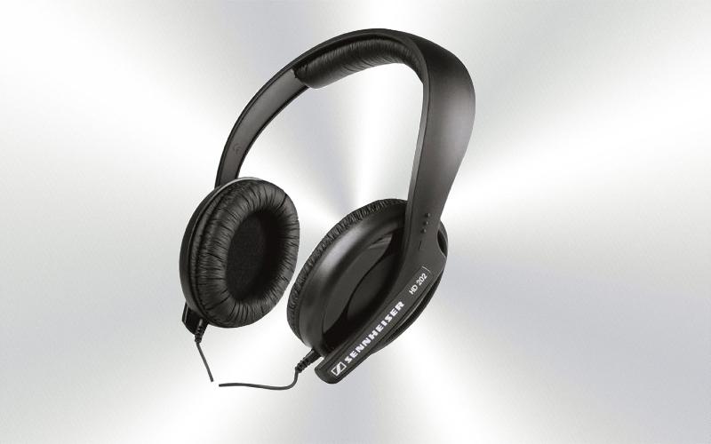 HD 202 -Auriculares dinámicos Sennheiser cerrados de alta fidelidad para DJ -3999-0014-
