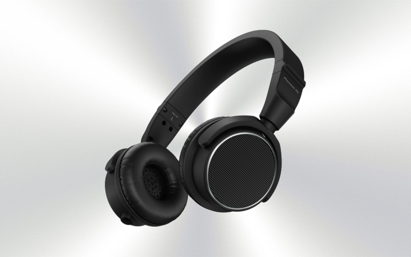 HDJ-S7K XEGWL -Auriculares Pioneer DJ profesionales (on-ear) (Black) -3310-0018-