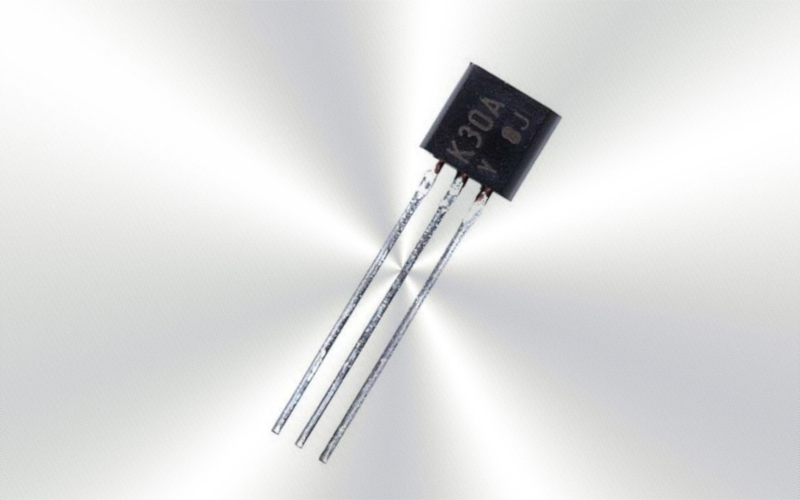 2SK30A -Transistor FET TO-92 -6975-0015-
