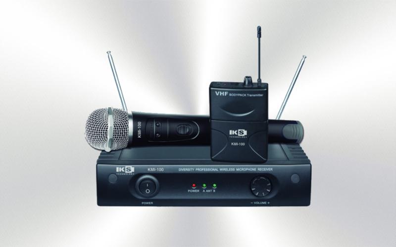 KMI 100 BELT -Micrófono  diadema y solapa  inalámbrico VHF KS -0045-0020-