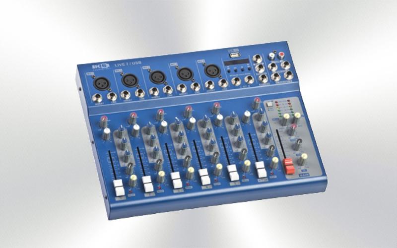 LIVE 7 USB KS -Mesa de 6 canales 5 micro/linea 1 estéreo USB frontal -4699-0025-