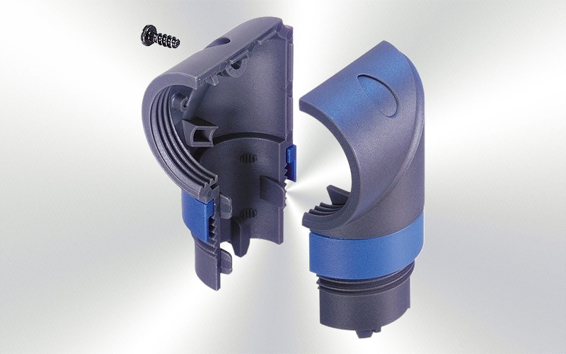 LRX -Adaptador codo speakon LRX -0020-0010-