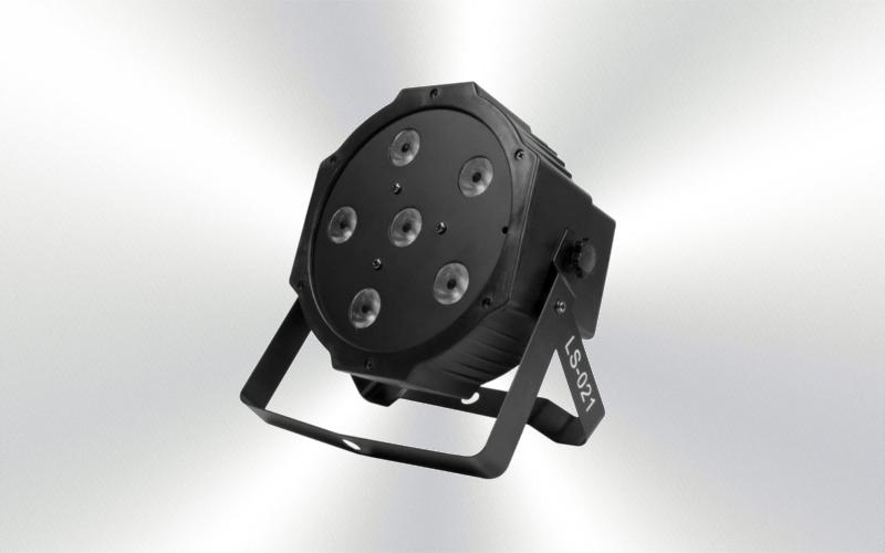LS-021 - Foco mini par led 6x10w con batería -4500#141215-