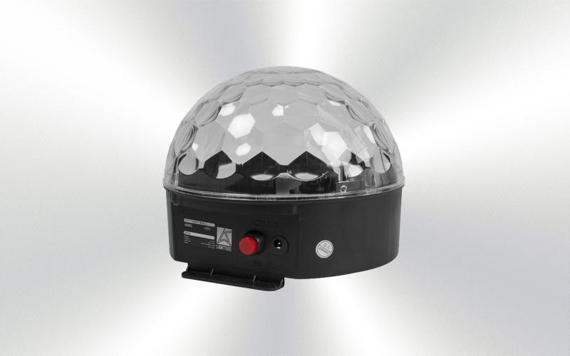 LS-023 - Iluminación Efecto mini led ball con batería 6x3w RGBW W -4000-0013-