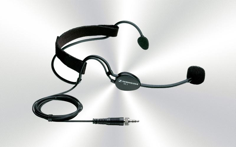 ME 3s.m.(c-1) -Micrófono de diadema dinámico Sennheiser -0045-0020-
