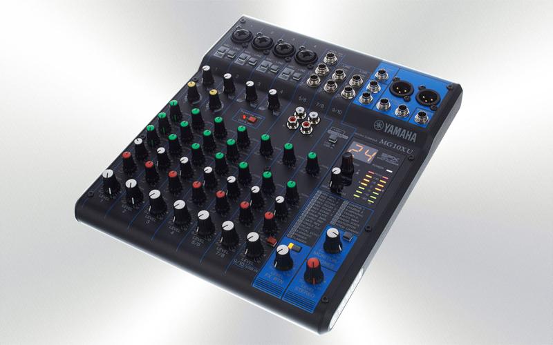 MG10XU - Mesa audio 10 canales (P) Yamaha de 10 canales (4 mono + 3 ST/4 mic) -1372-0000-