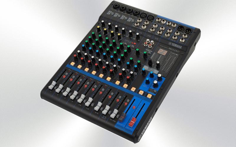 MG12XU - Mesa audio 12 canales Yamaha (4mono + 4 ST+6 MIC) con efectos -2558-0010-