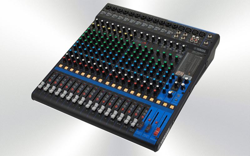 MG20XU -Mesa de mezclas 20 canales Yamaha  (12 mono + 4 St./16 mic),4 subgr.4 aux, -0005-0000-