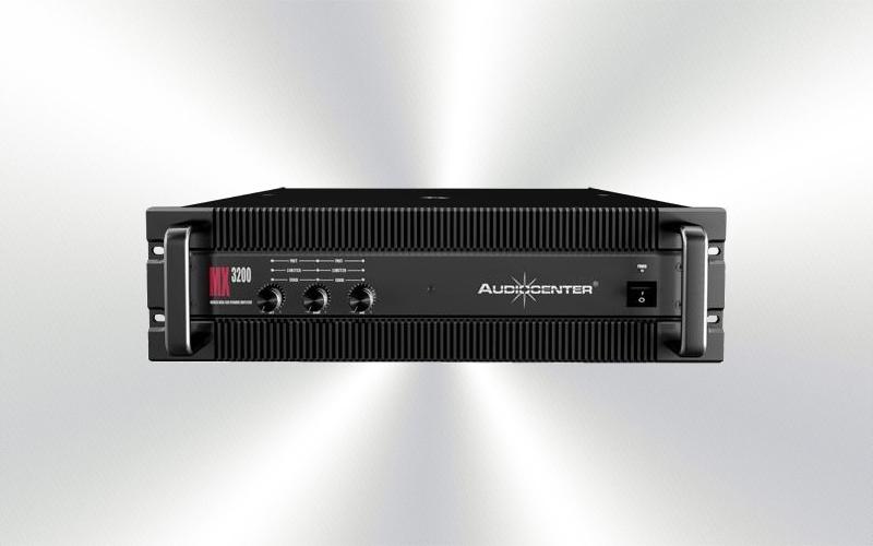 MX-3200 -ETAPA 850Wx1 + 350Wx2 -RMS 4 ohm AUDIOCENTER  -4051-0018-