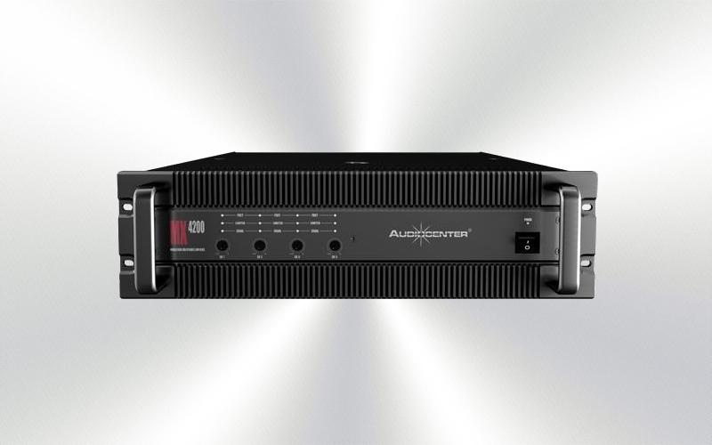 MX-4200 -ETAPA 210wx4  4 ohm Audiocenter -405-0018-