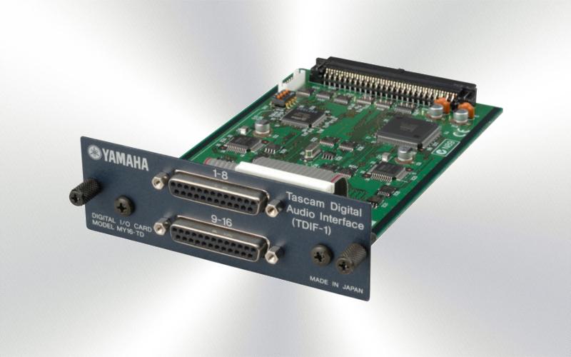 MY16TD - Tarjeta Yamaha 16e/s 2xD-25 -1500-0000-