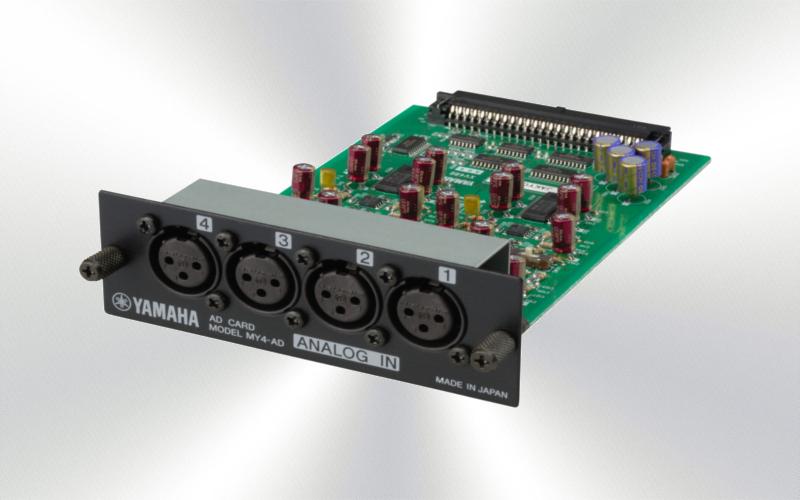 MY4AD - Tarjeta Yamaha 4AD 4 E/analog. -1893-0010-
