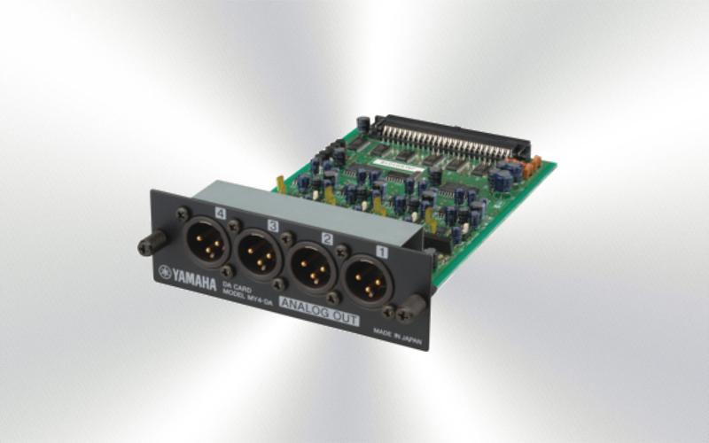 MY4DA -Tarjeta Yamaha de expansión interfaz analógico -2504-0010-